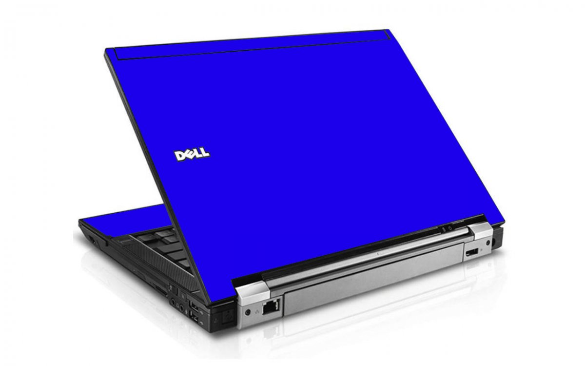 Blue Dell E6400 Laptop Skin
