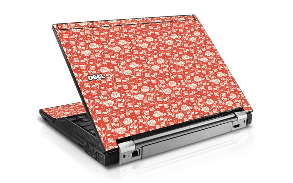 Pink Roses Dell E6400 Laptop Skin