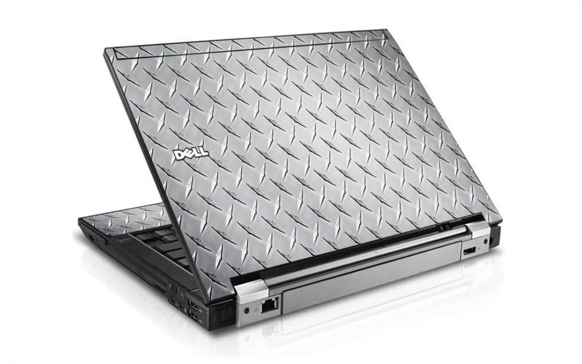 Diamond Plate Dell E6410 Laptop Skin