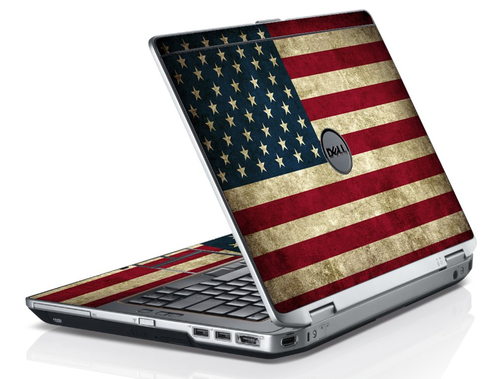 American Flag Dell E6420 Laptop Skin