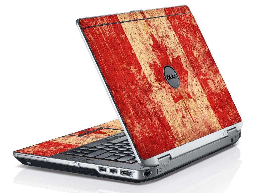 Canada Flag Dell E6420 Laptop Skin