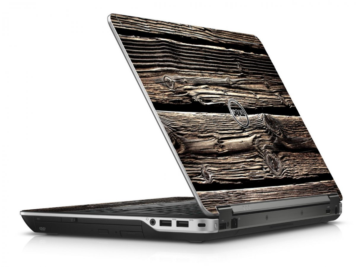 Wood Dell E6440 Laptop Skin