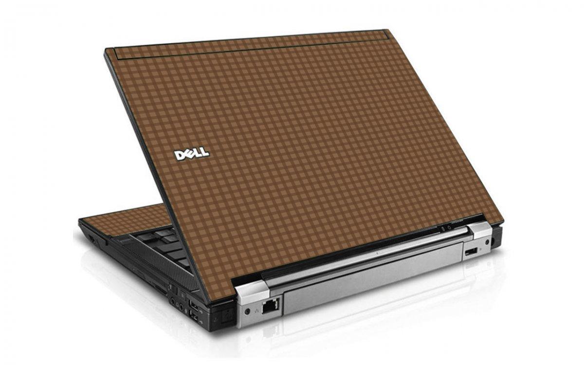 Dark Gingham Dell E6500 Laptop Skin