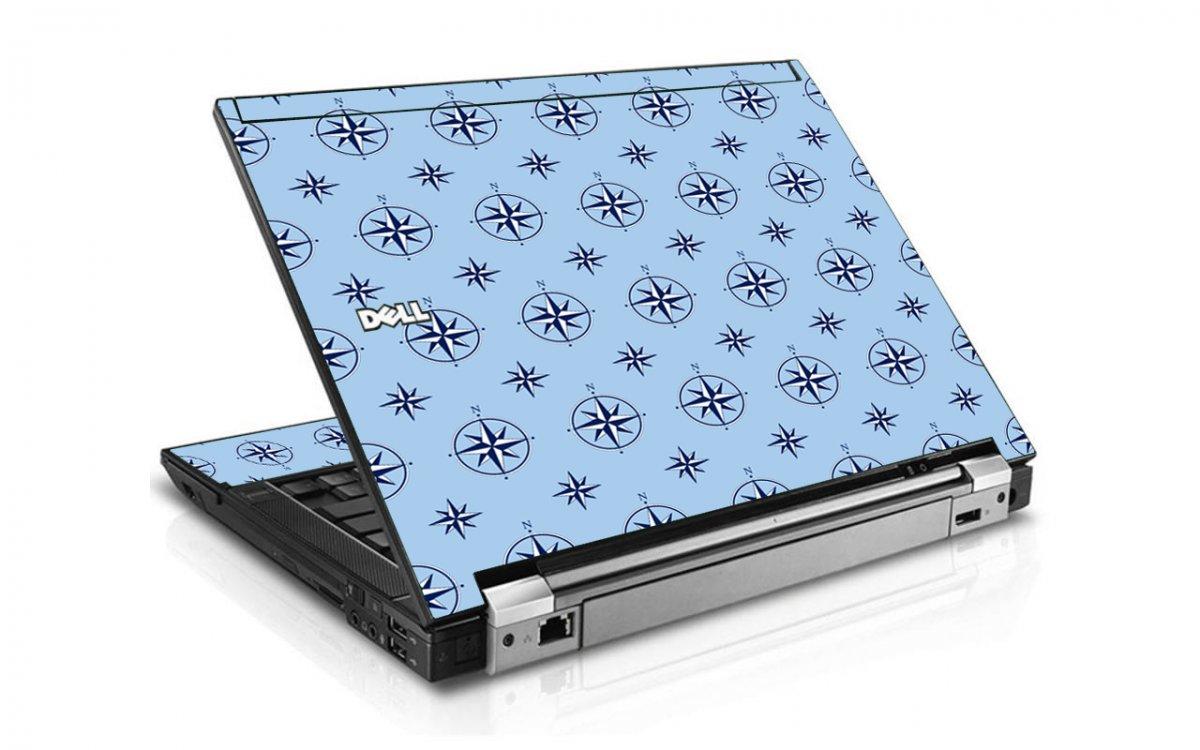 Nautical Blue Dell E6500 Laptop Skin
