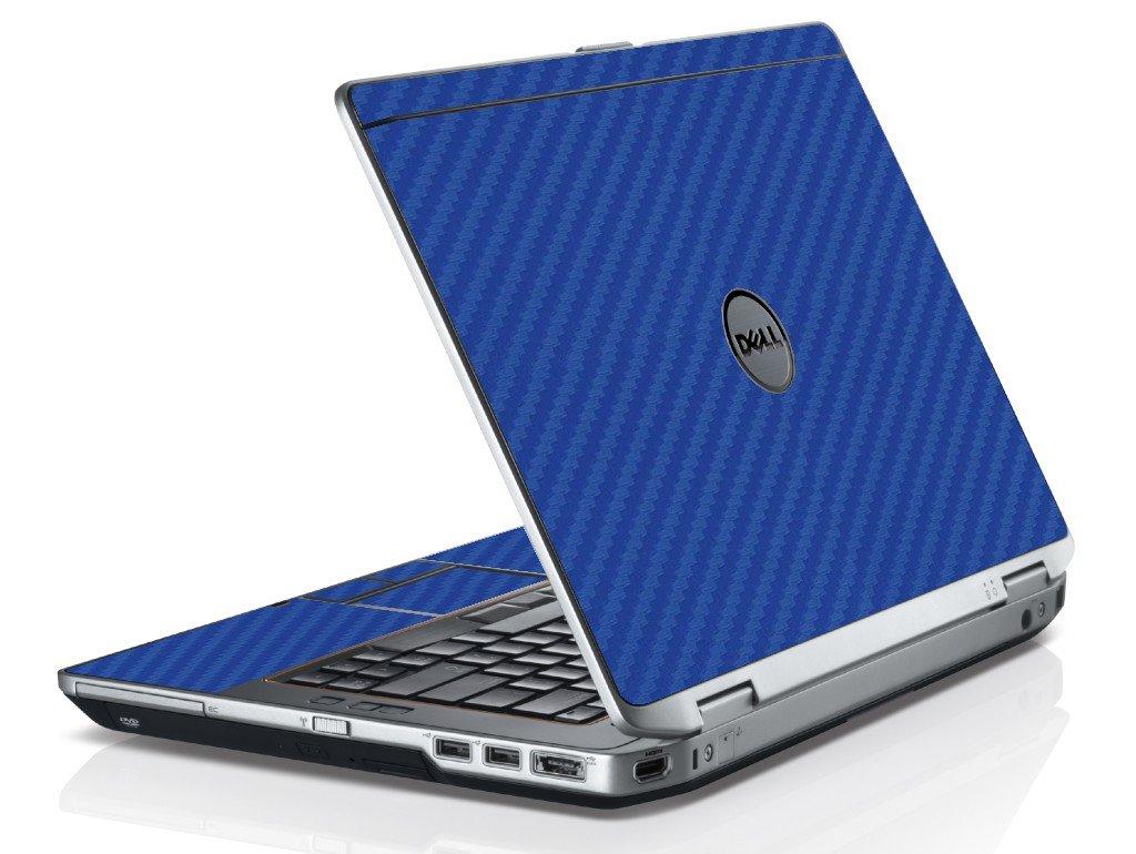 Blue Carbon Fiber Dell E6530 Laptop Skin Lidstyles Com