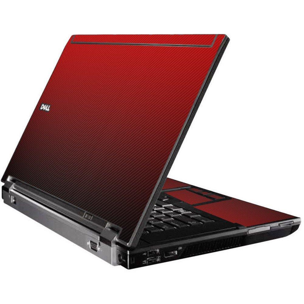 Red Carbon Fiber Dell M4400 Laptop Skin