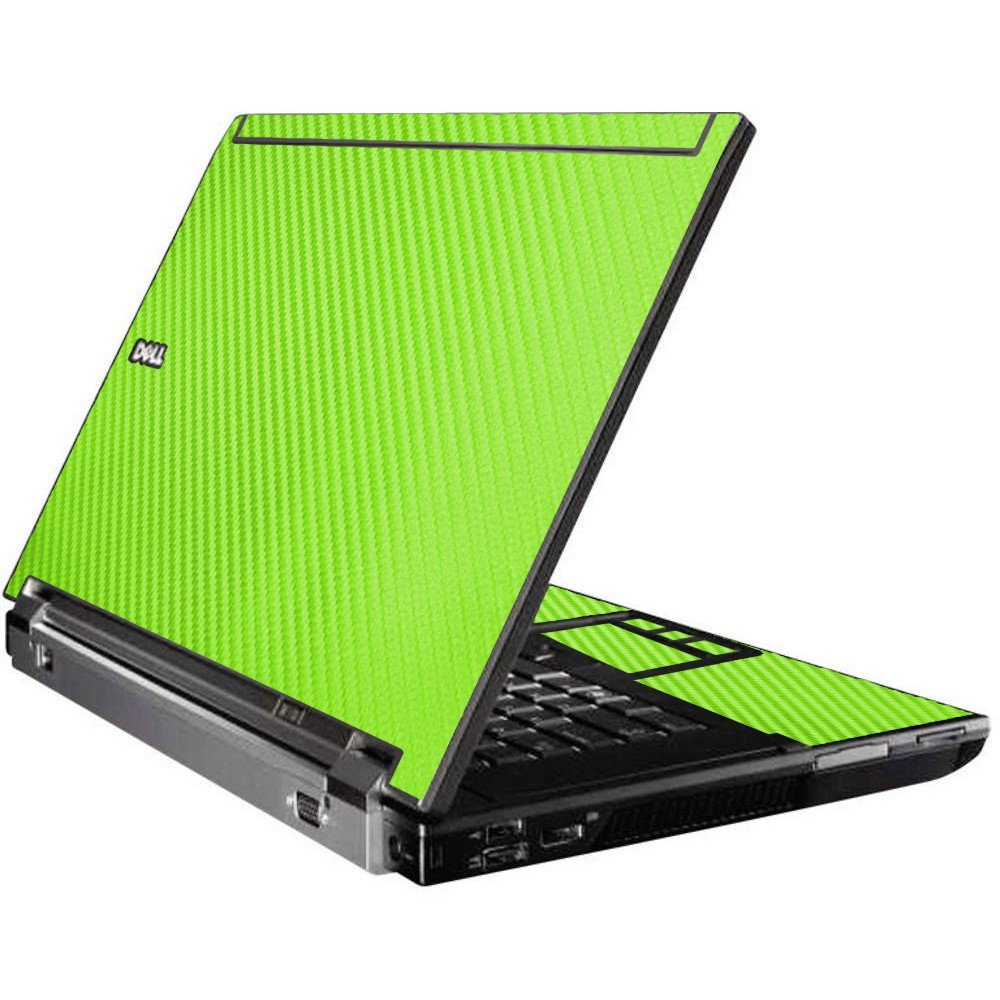 Green Carbon Fiber Dell M4500 Laptop Skin