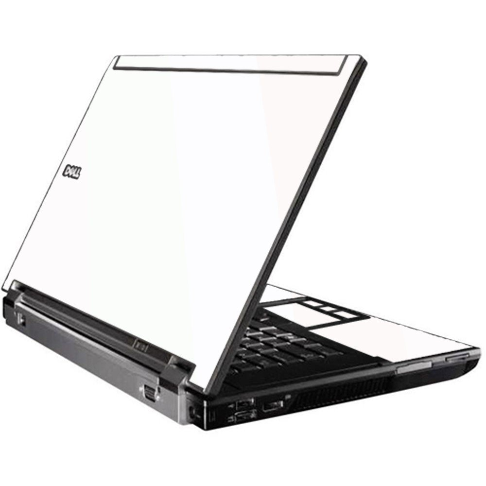White Dell M4500 Laptop Skin
