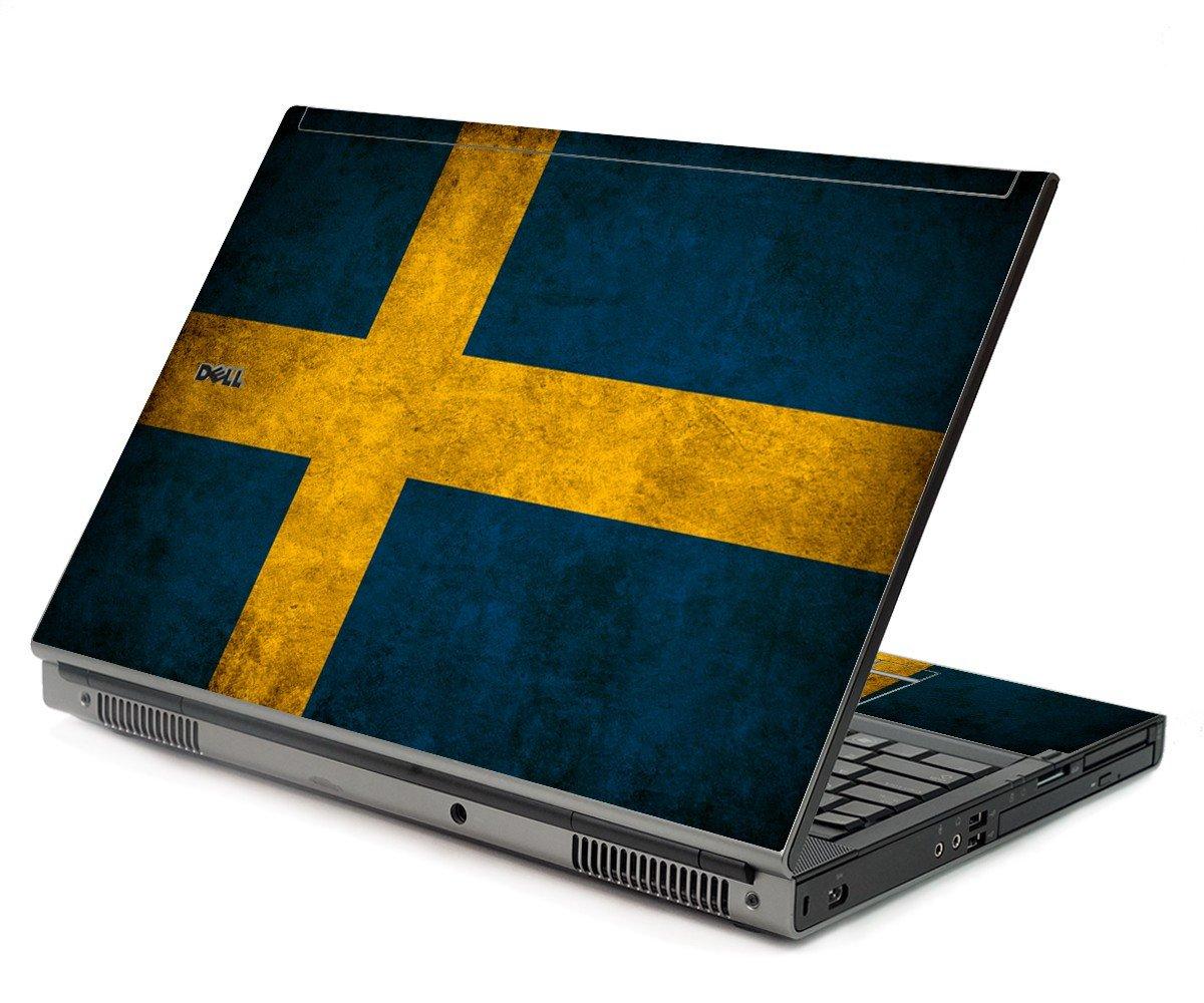Swedish Flag Dell M6400 Laptop Skin