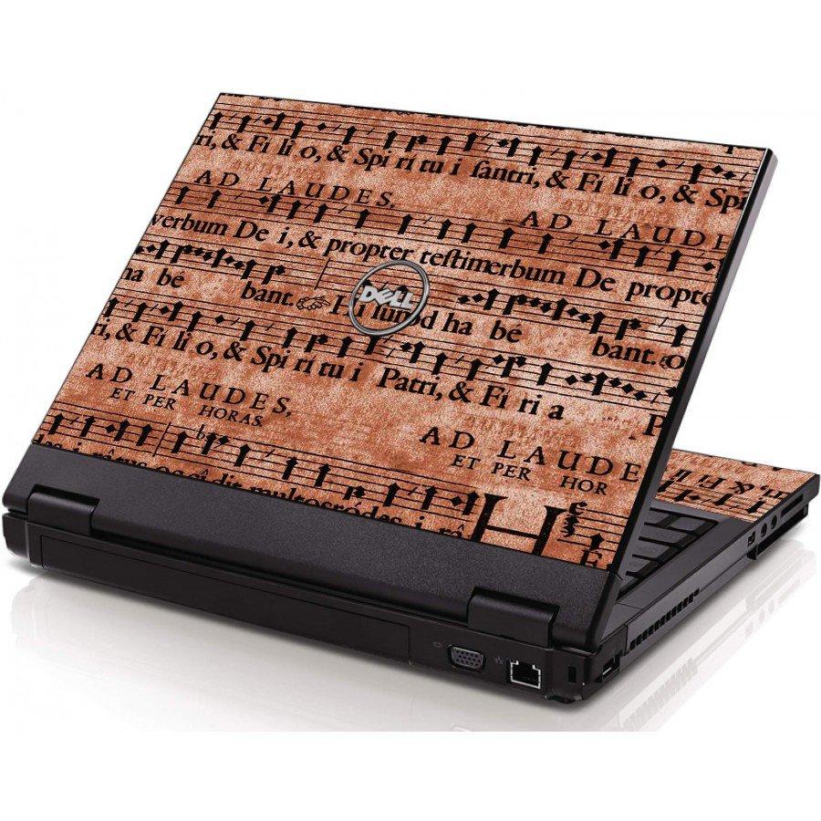 Latin Sheet Music Dell 1320 Laptop Skin