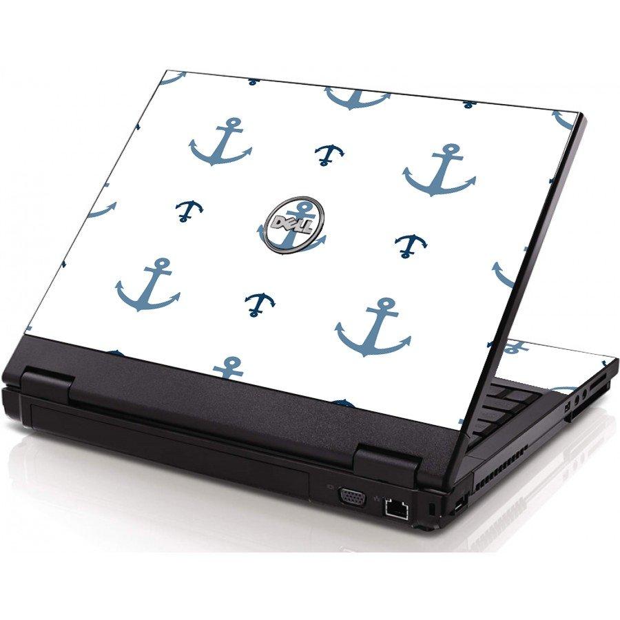 Multi Blue Anchors Dell 1520 Laptop Skin