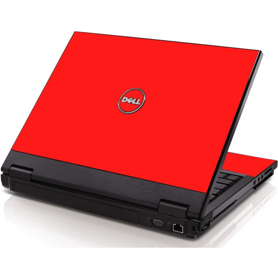 Red Dell 1320 Laptop Skin
