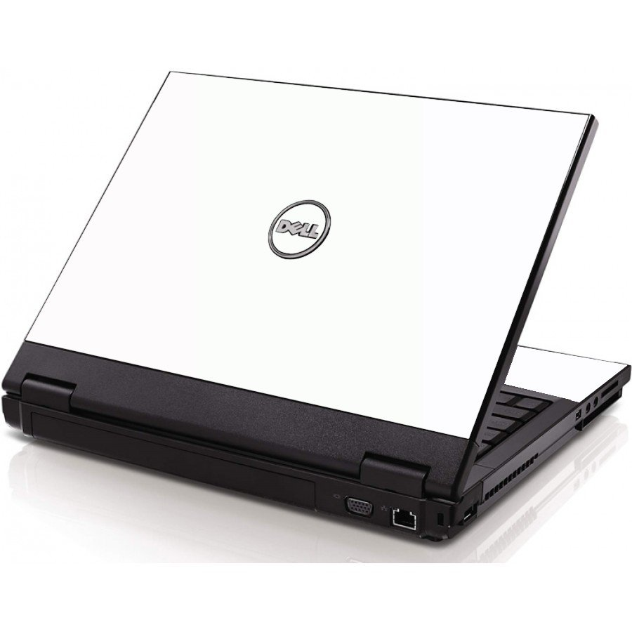 White Dell 1320 Laptop Skin