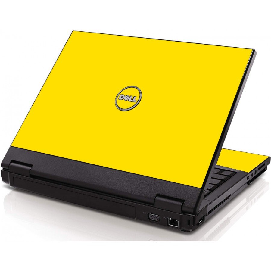 Yellow Dell 1320 Laptop Skin