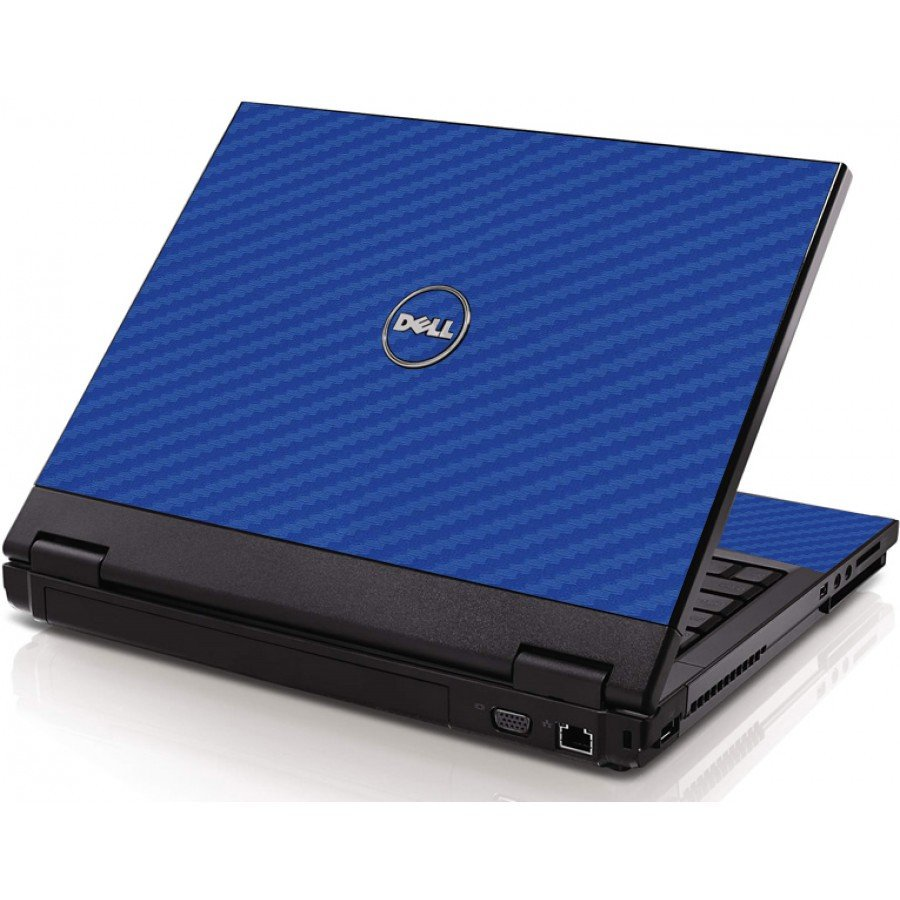 Blue Carbon Fiber Dell 1520 Laptop Skin
