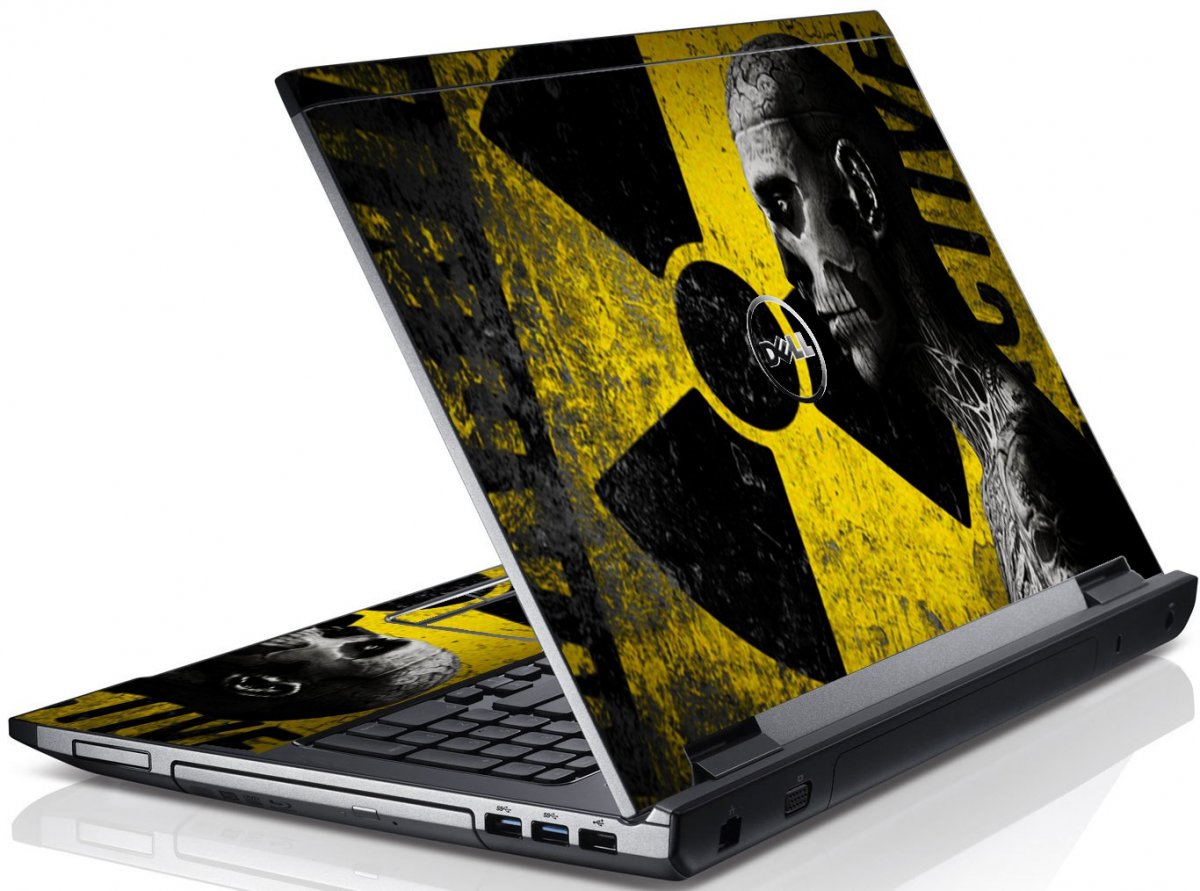 Biohazard Zombie Dell V3550 Laptop Skin