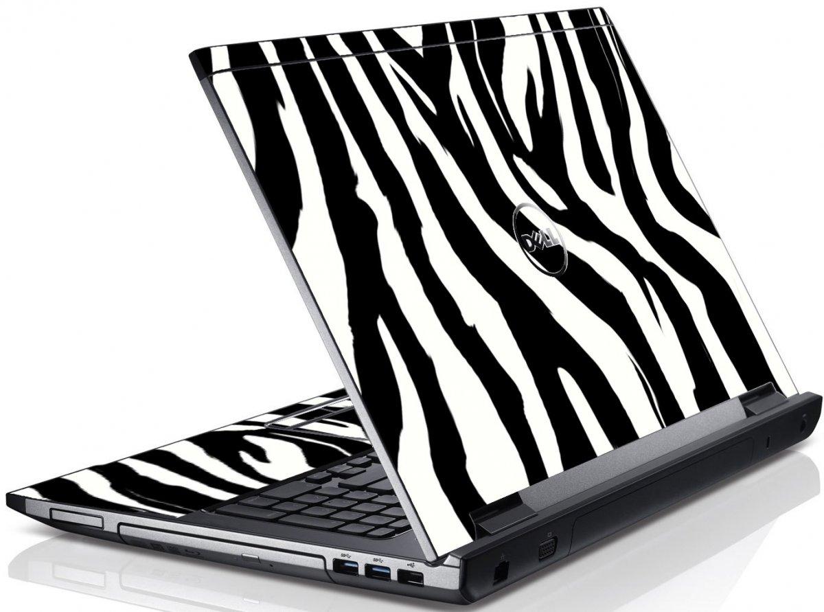 Zebra Dell V3550 Laptop Skin