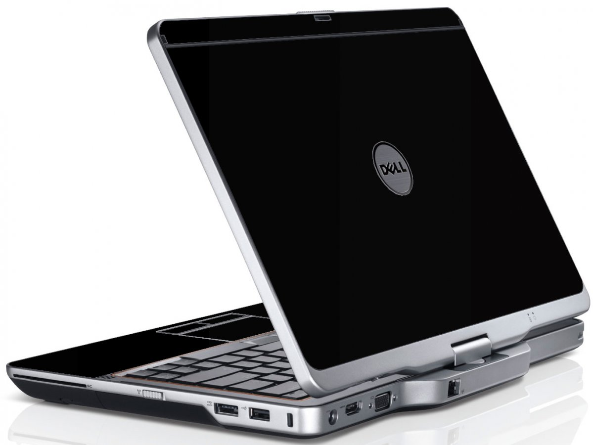 Black Dell XT3 Laptop Skin