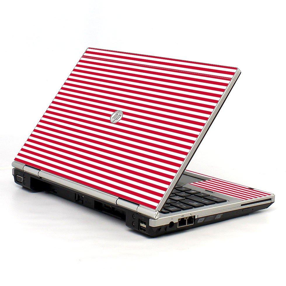 Red Stripes 2570P Laptop Skin