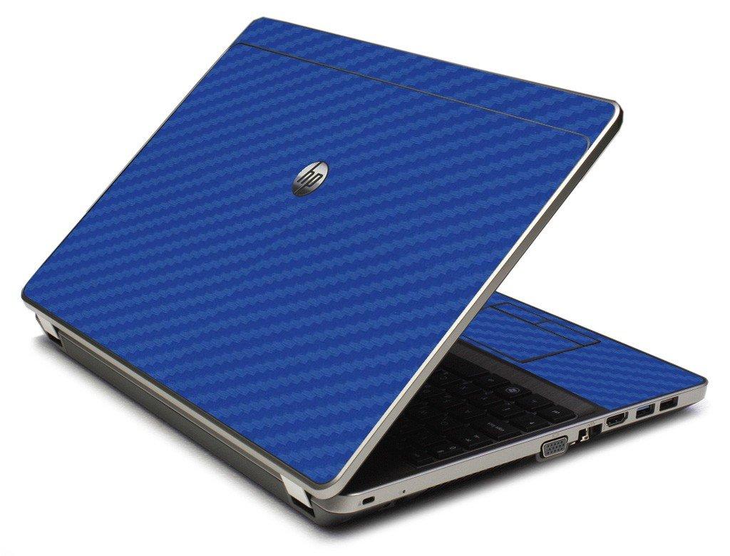 Blue Carbon Fiber 4535S Laptop Skin