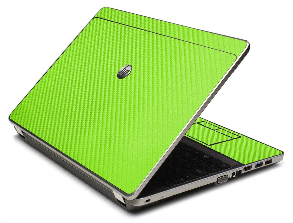 Green Carbon Fiber 4535S Laptop Skin