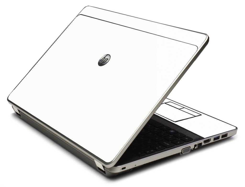 White 4535S Laptop Skin