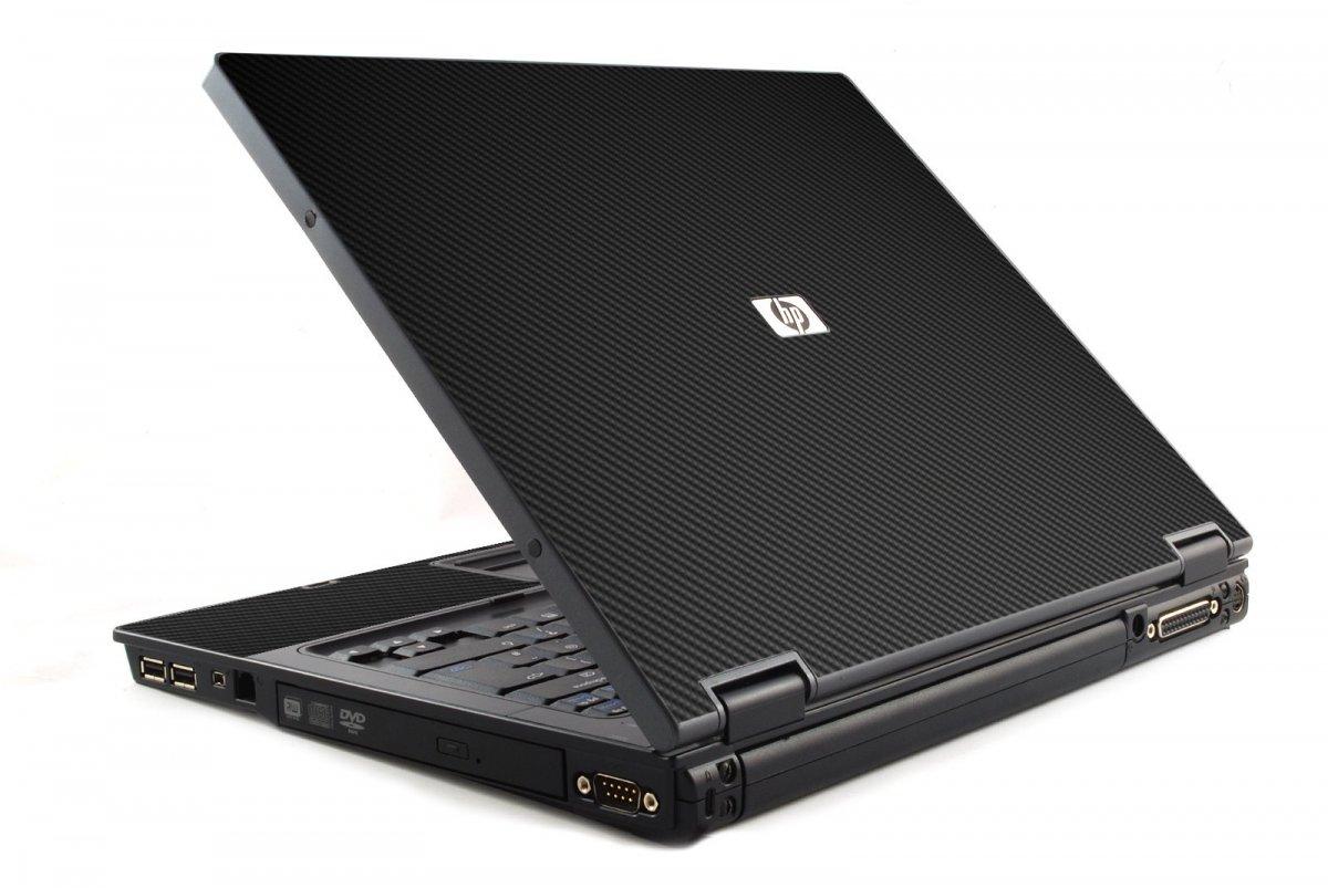 Black Carbon Fiber 6510B Laptop Skin