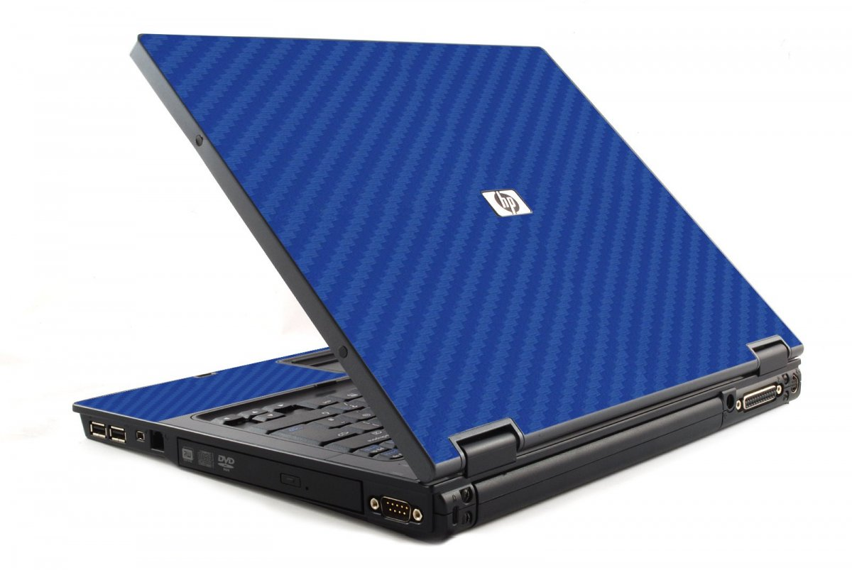 Blue Carbon Fiber 6510B Laptop Skin
