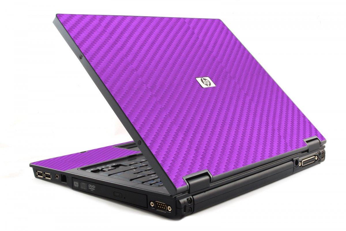 Purple Carbon Fiber 6510B Laptop Skin