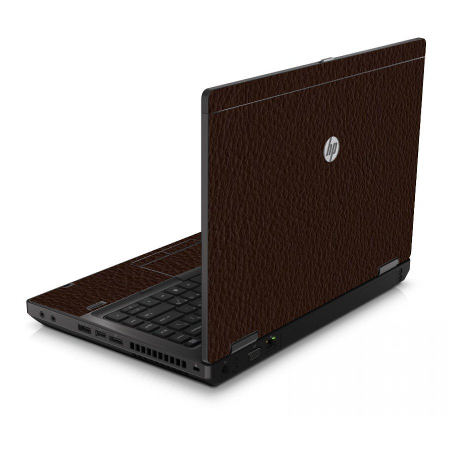 Brown Leather 6560B Laptop Skin