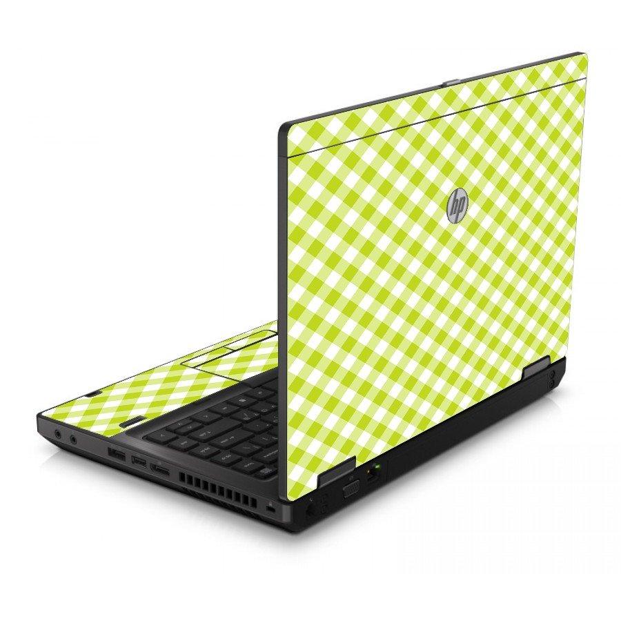 Green Checkered 6560B Laptop Skin