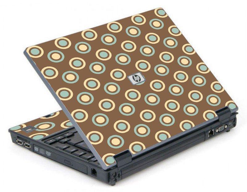 Retro Polka Dot 6710B Laptop Skin