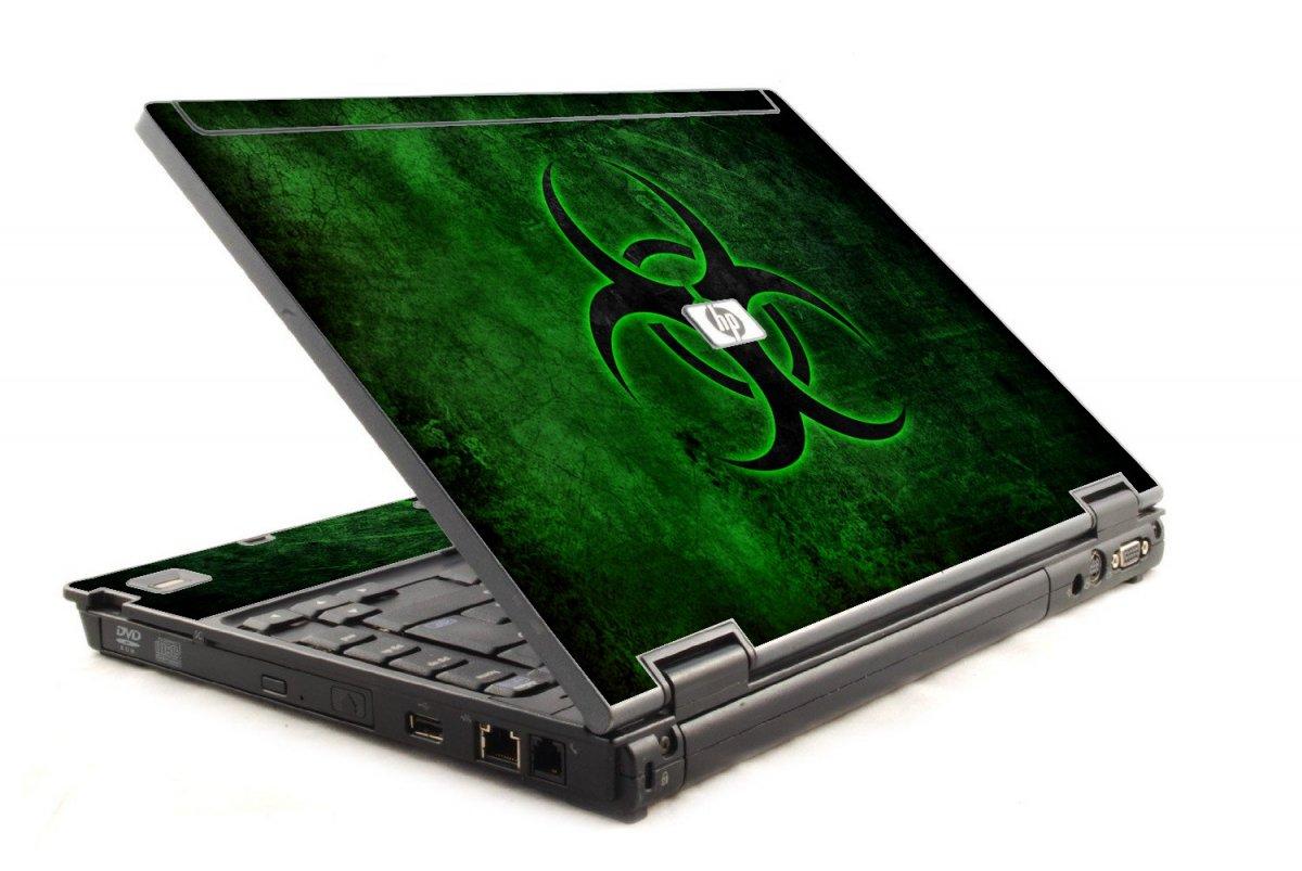 Green Biohazard 6930P Laptop Skin