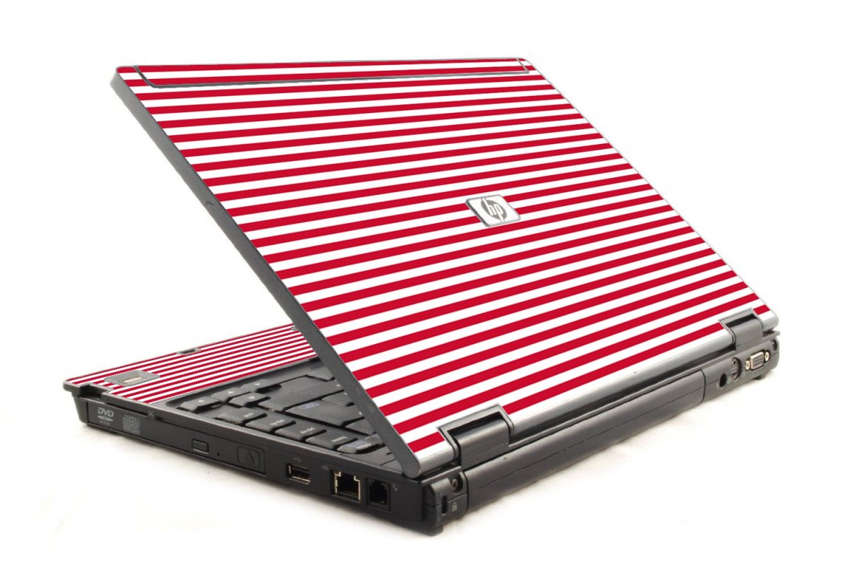 Red Stripes 6930P Laptop Skin