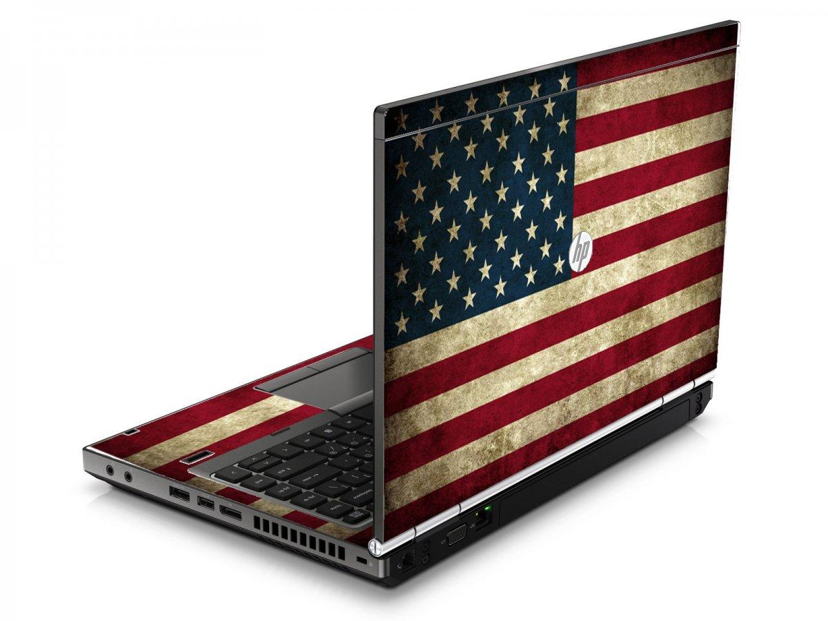 American Flag HP8460P Laptop Skin