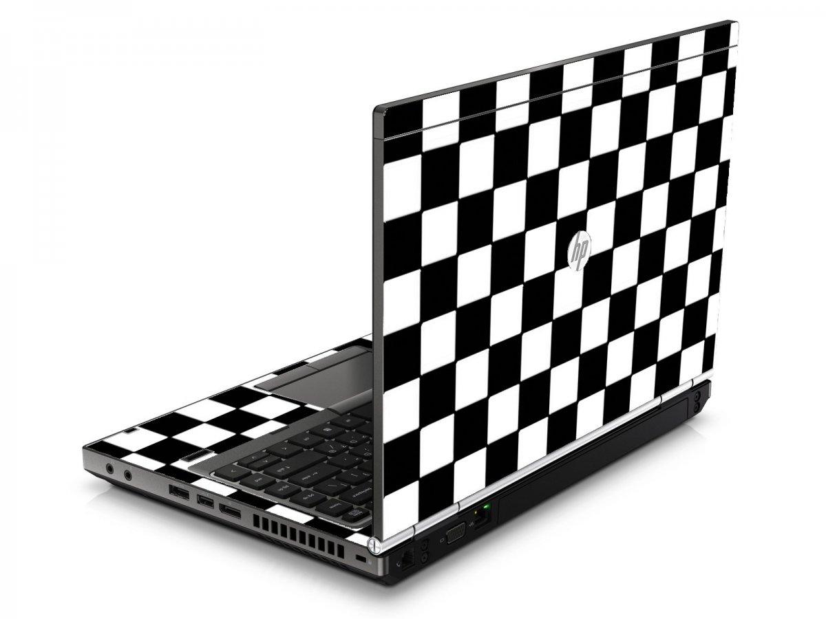 Checkered HP8460P Laptop Skin