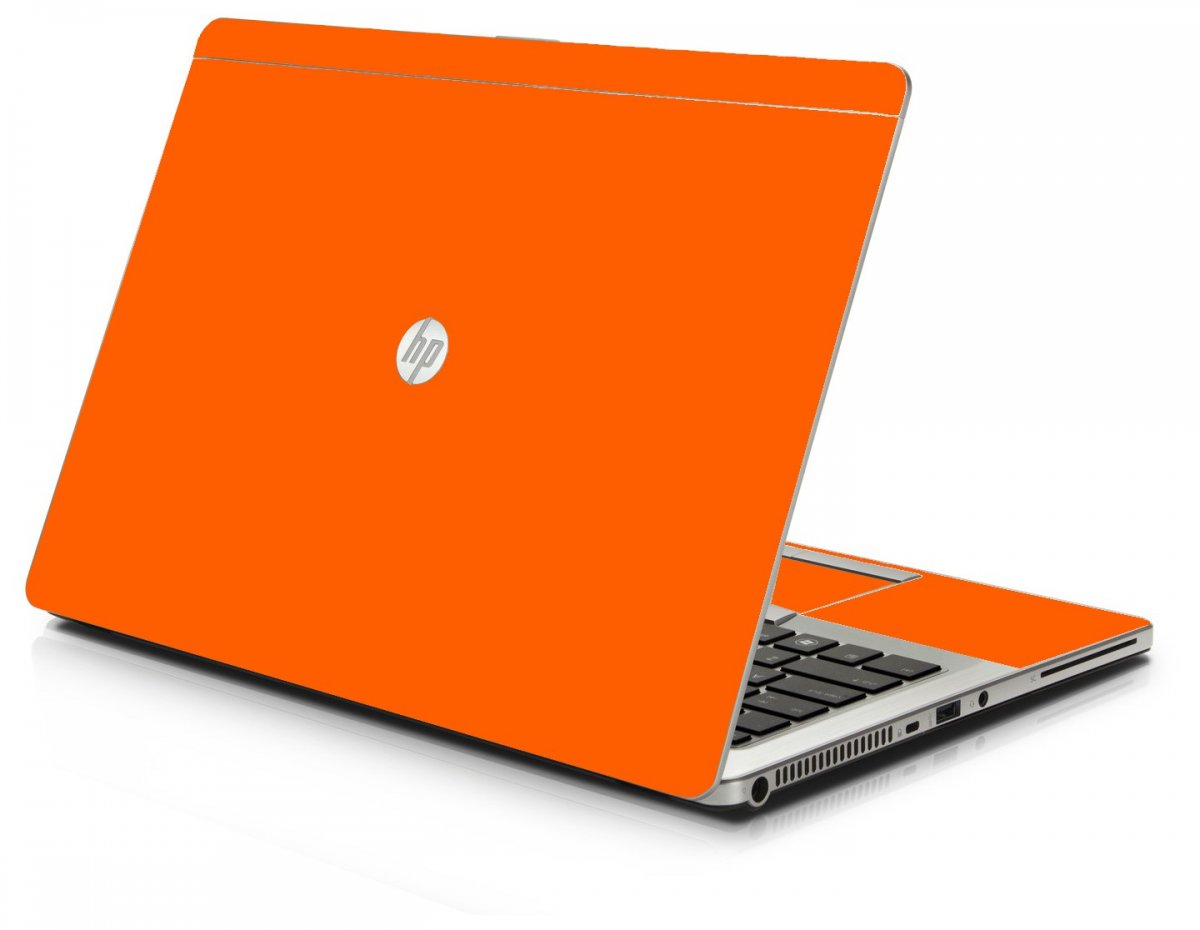 Orange Hp 9470m Laptop Skin Lidstyles Com