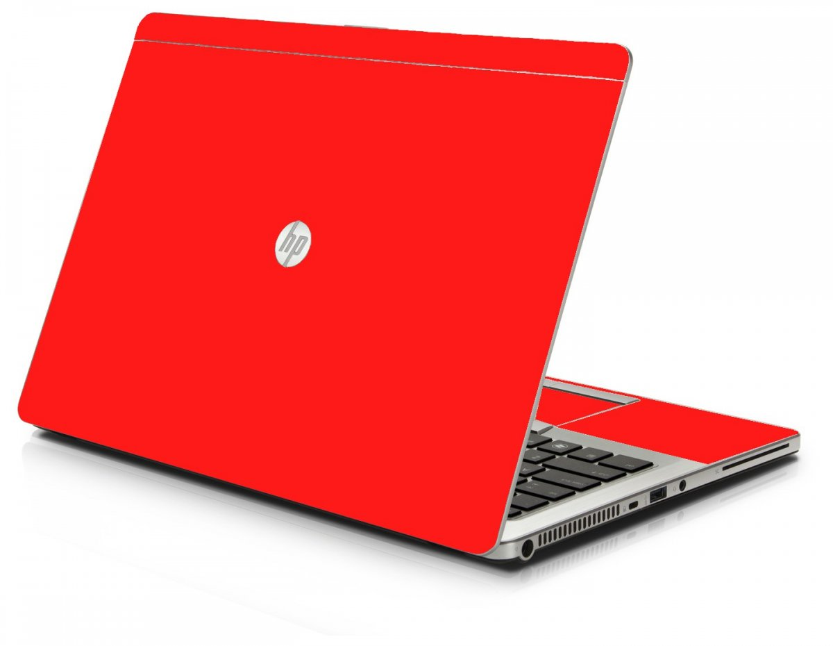 Red HP 9470M Laptop Skin