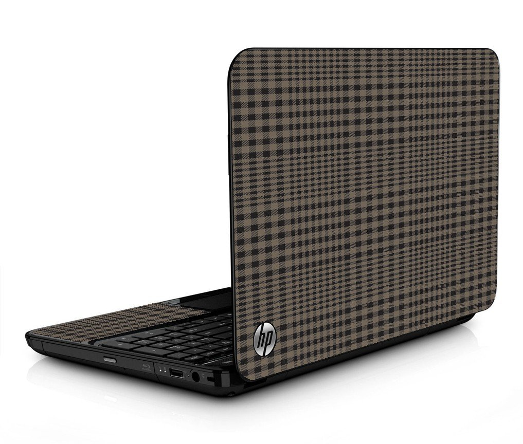 Beige Plaid HPG6 Laptop Skin