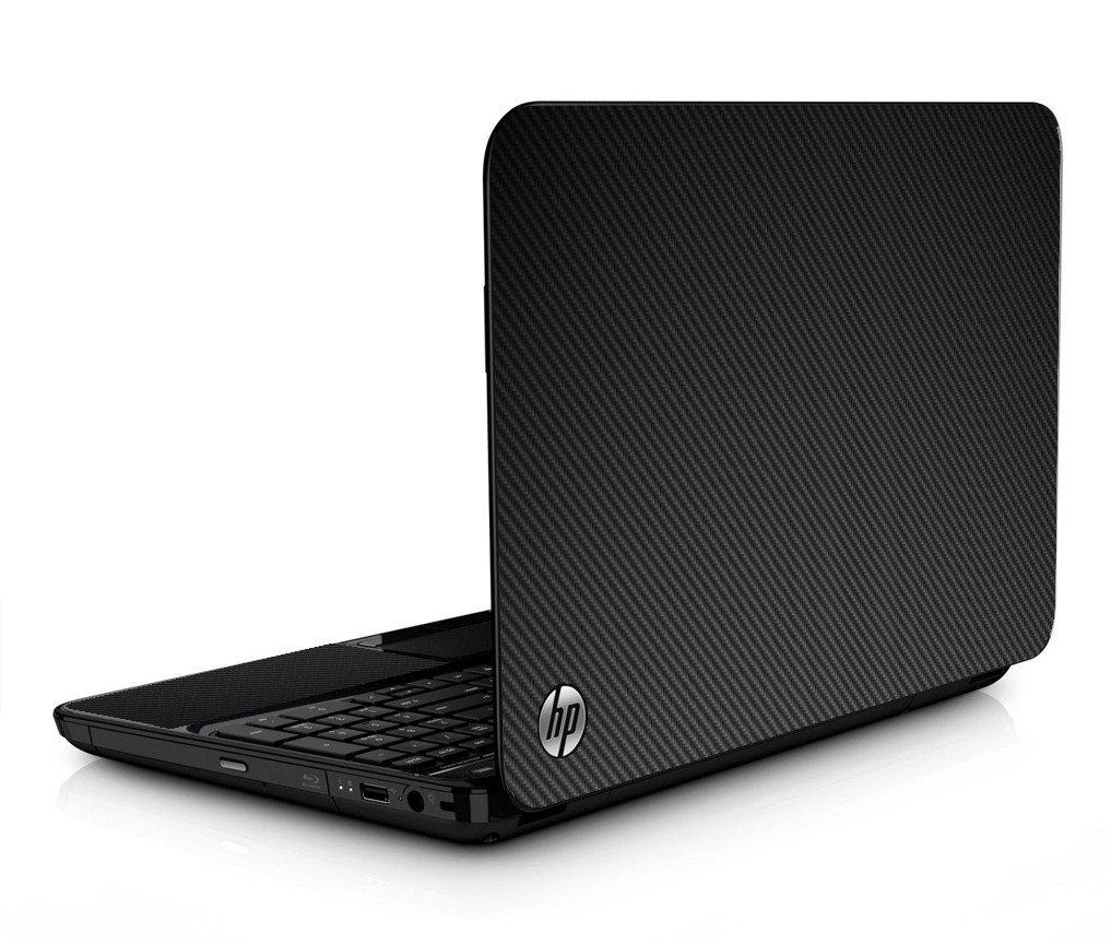 Black Carbon Fiber HPG6 Laptop Skin