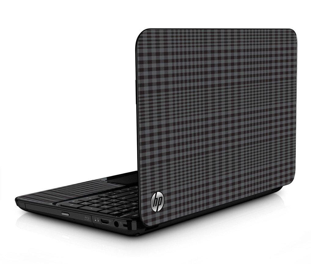 Black Plaid HPG6 Laptop Skin