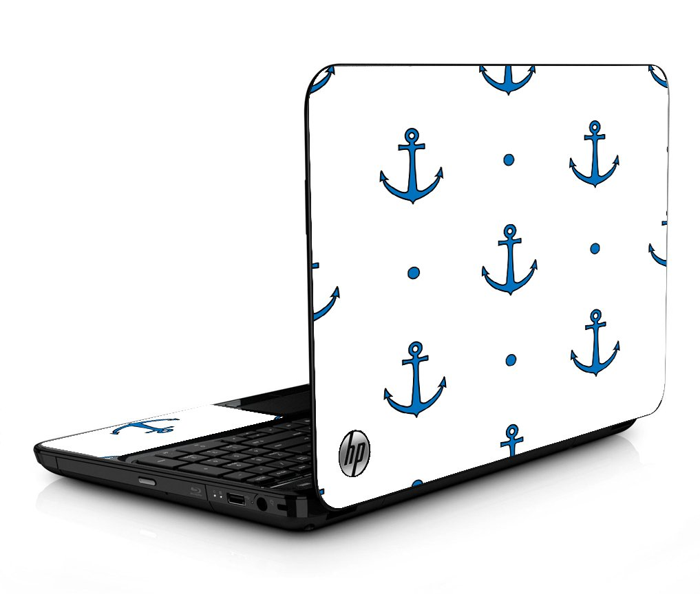 Blue Anchors HPG6 Laptop Skin