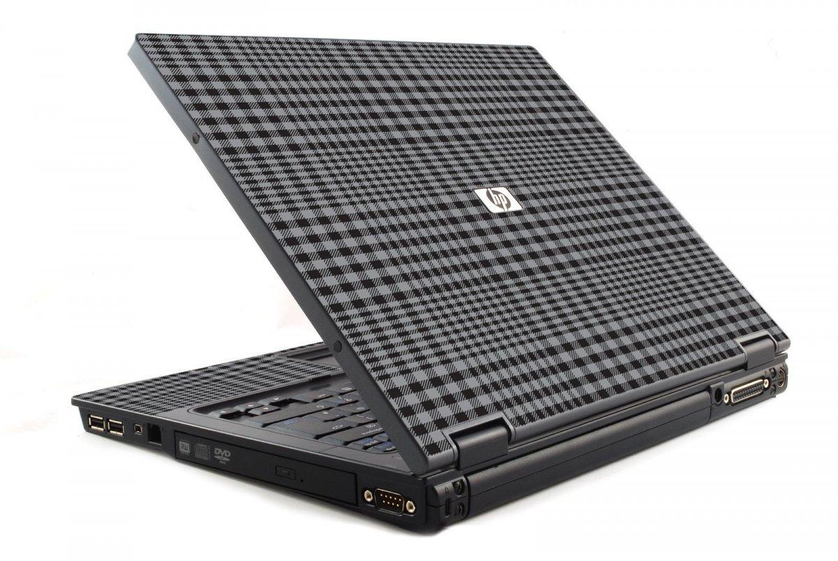 Darkest Grey Plaid 6120 Laptop Skin