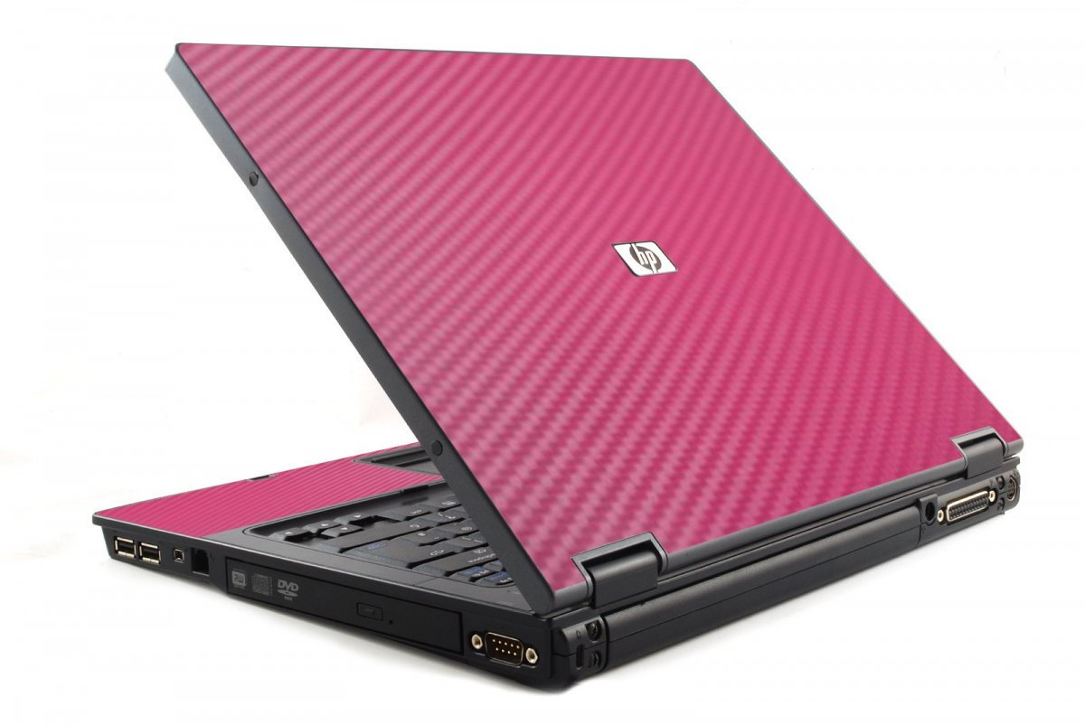 Pink Carbon Fiber HP NC6120 Laptop Skin