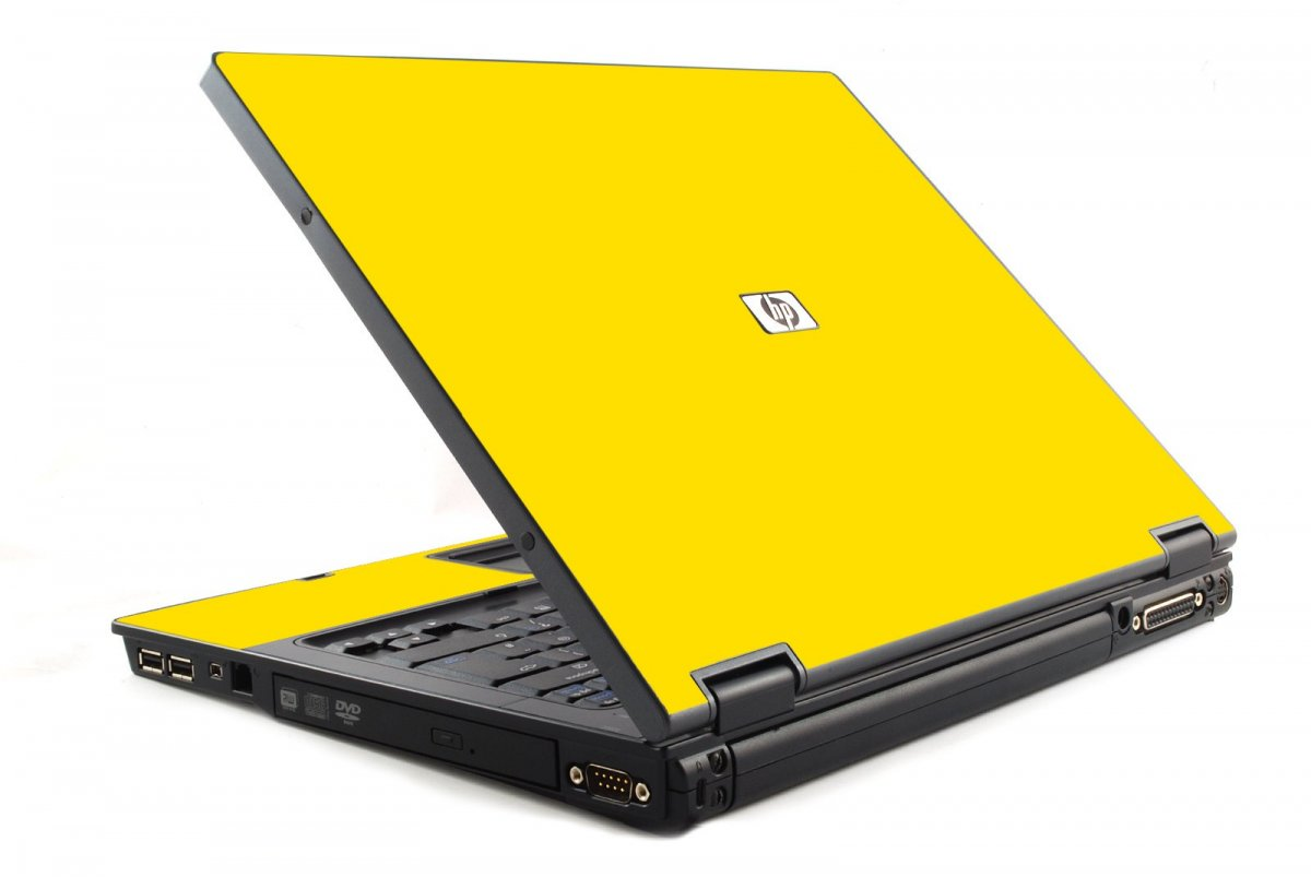Yellow HP NC6120 Laptop Skin