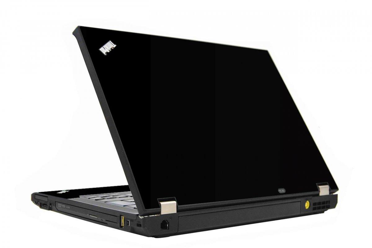 Black IBM T410 Laptop Skin