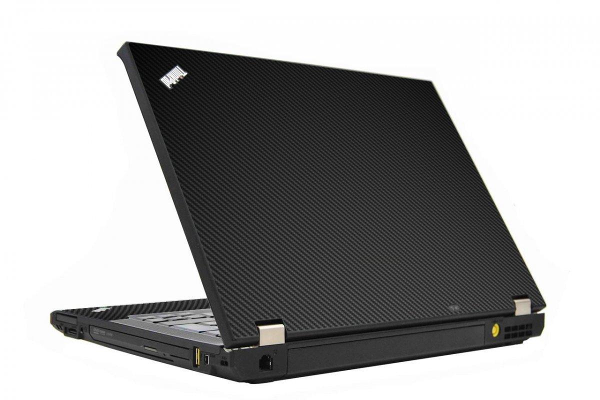 Black Carbon Fiber IBM T410 Laptop Skin