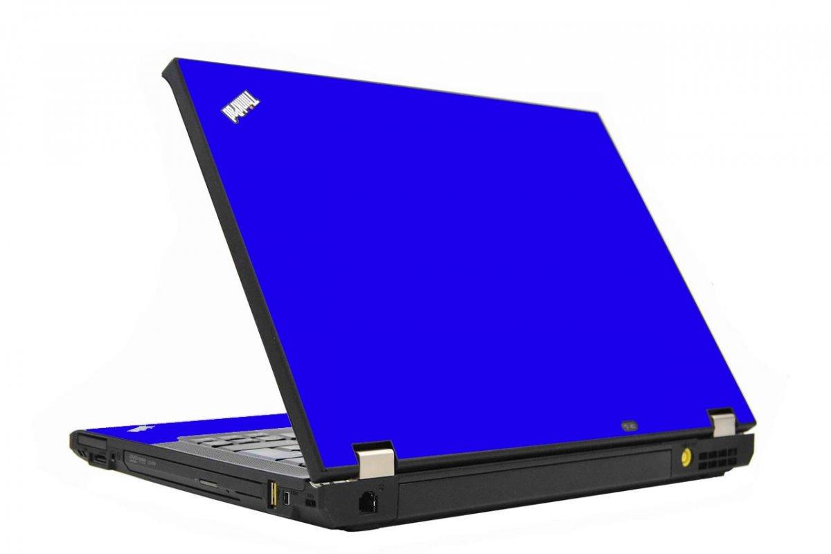 Blue IBM T410 Laptop Skin