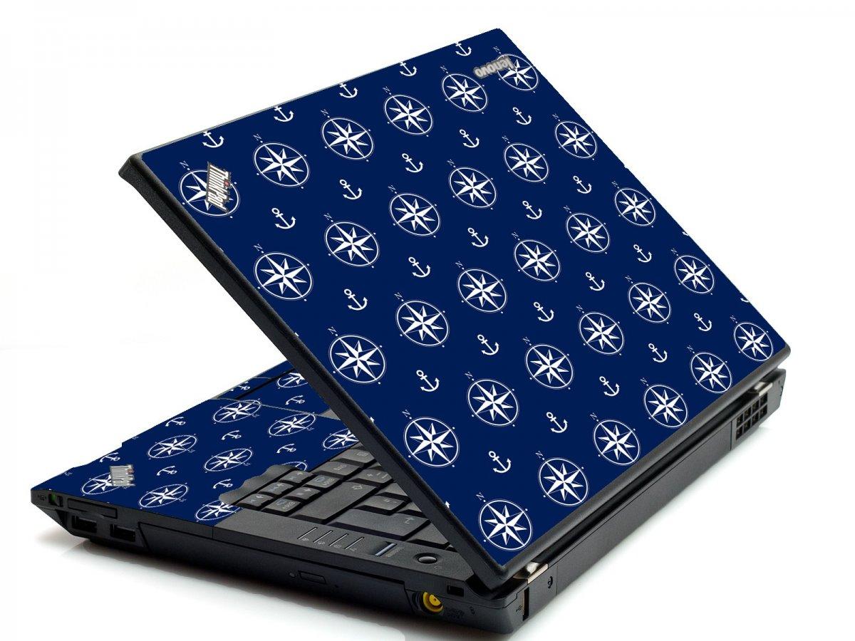 Nautical Anchors IBM T420 Laptop Skin