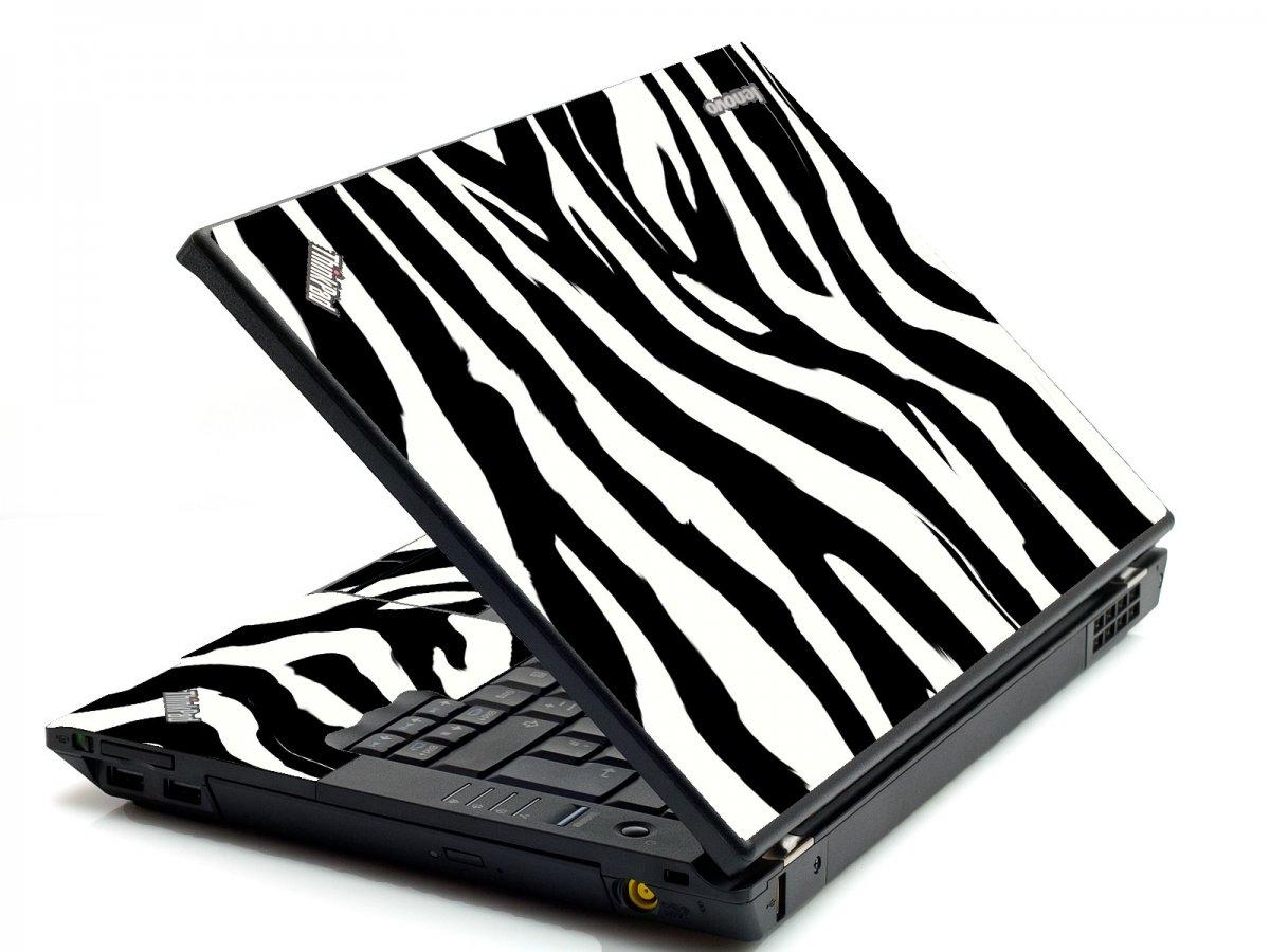 Zebra IBM T420 Laptop Skin